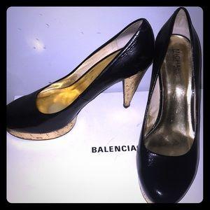 Michael Michael Kors Patent Leather Heel